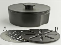 ceramic japan(セラミックジャパン)  do-nabe 240 IH対応  黒 土鍋 24cm 秋田道夫 デザイン