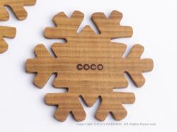 工房COCO 木製コースター
