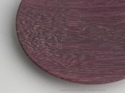 井筒佳幸ウッドプレート(木製プレート)パープルハート無垢材