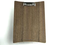 カコイプロダクツの天然木のクリップボード、ウォルナット