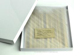 カコイプロダクツの天然木のクリップボード化粧箱