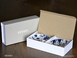 有田焼のキハラのコモンロックマメザラ5枚セット