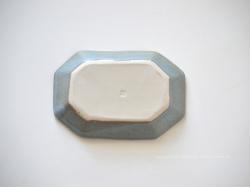 taro-cobo(タロウ工房)  竹之内太郎の器(陶器)八角リム皿シリーズ 長小