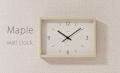 レムノス Maple clock